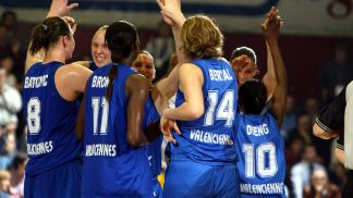 Valenciennes qualification to their final of the EuroLeague Women for the 4th consecutive season