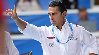 Spain coach Sergio Scariolo