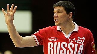 Russia Head Coach Dmitry Donskov