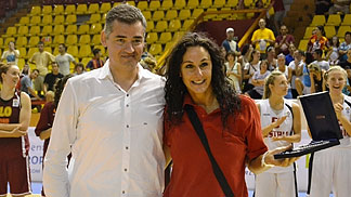 Rebecca Thoresen  (Malta) was named MVP of the 2012 European Championship of the Small Countries Women