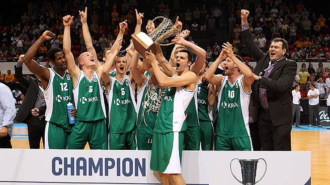 KRKA Bring The Trophy To Slovenia