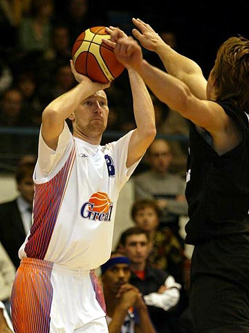 Sergey Chikalkin was Ural Great's leading scorer against GHP Bamberg with 19 points
