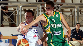 Jonas Valanciunas (Lithuania), David Hrncír (Czech Republic)