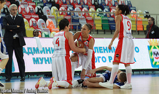 Janel Mc Carville (Spartak Moscow Region), Diana Taurasi (Spartak Moscow Region)
