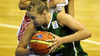 12. Gintare Mazionyte (Lithuania)