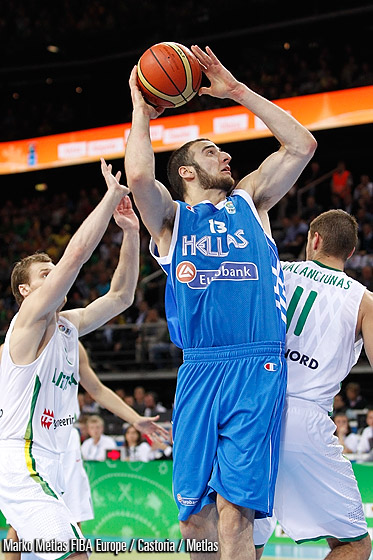13. Kostas Koufos (Greece)