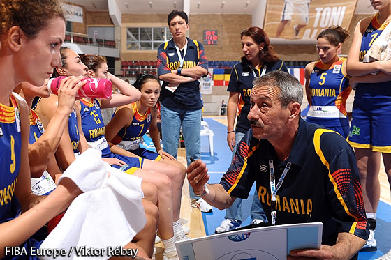 Coach of Romania