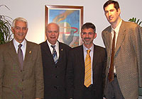 Nar Zanolin, George Vassilakopoulos, Giuseppe Cassi and Walter Palmer