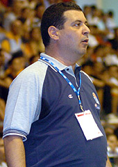 Greece Head Coach Nikos Keramefs