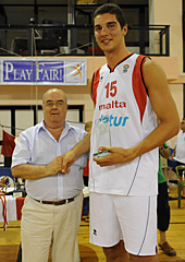 Fair-Play Award - Samuel Deguara (Malta)