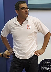 Poland head coach Jacek Winnicki