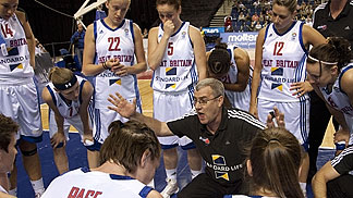 Great Britain Head Coach Tom Maher
