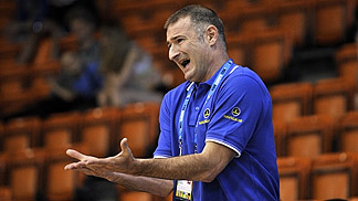 Bosnia and Herzegovina head coach Nenad Markovic