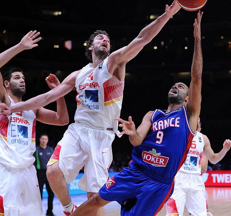 4. Pau Gasol (Spain), 9. Tony Parker (France)