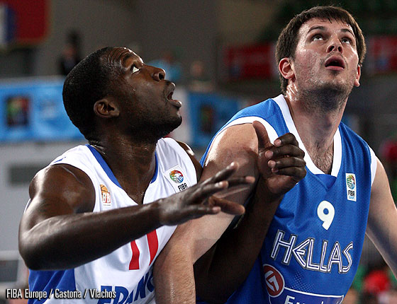 Florent Pietrus (France), Antonios Fotsis (Greece)