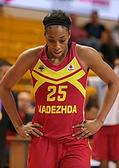 25. Glory Johnson (Nadezhda Orenburg)