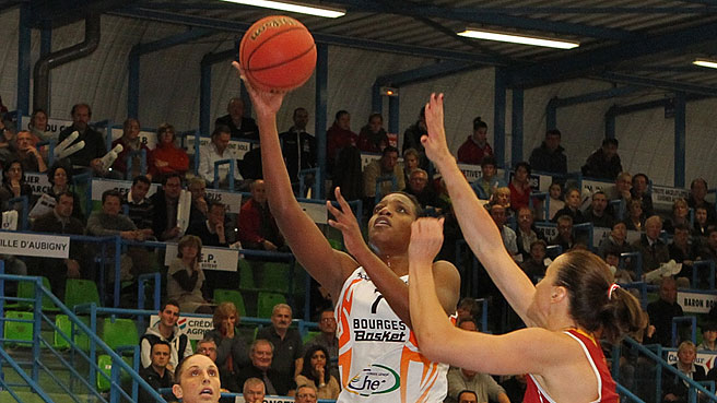 Bourges Beat BLMA In French Showdown