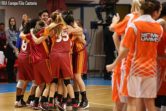 With the win over UMMC, Galatasary have reached their first ever EuroLeague Women final