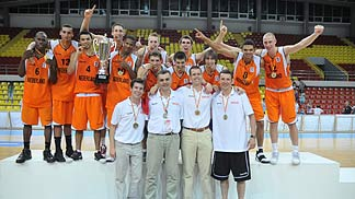 Netherlands: Gold medallists 2009 U20 European Championship Men, Division B