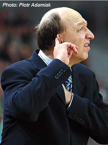 The Anwil head coach Andrej Urlep