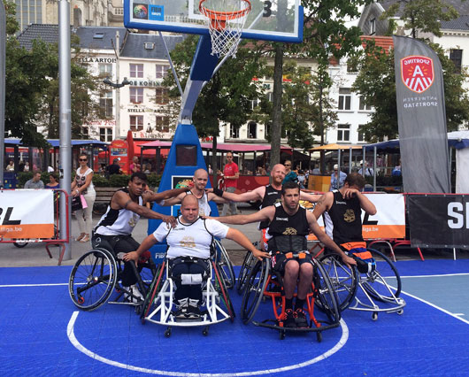 The wheelchair athletes keep proving that at our events around Europe