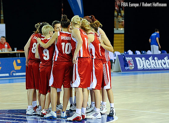 Albania at the EuroBasket Women Division B 2011
