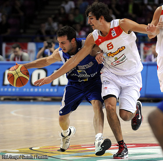Ricky Rubio (Spain), Flinder Boyd (Great Britain)