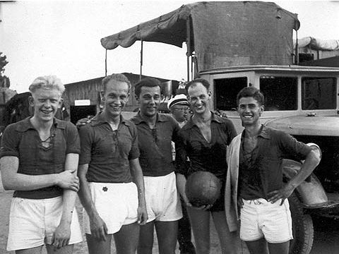 The first German national team