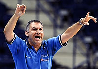 Greece Head Coach George Vlassopoulos