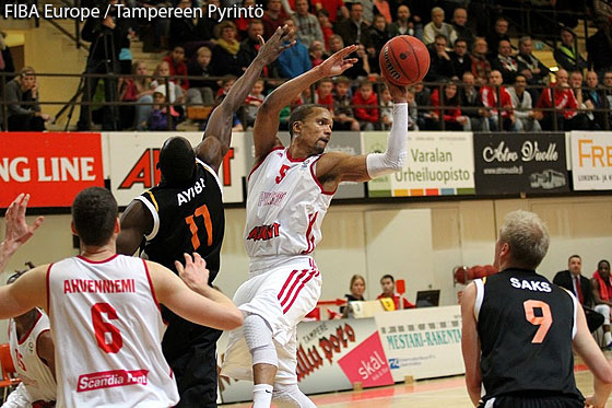 5. Damon Williams (Tampereen Pyrintö)