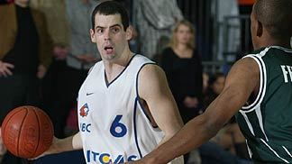 Paul Burke had 18 points for MBC against Benetton