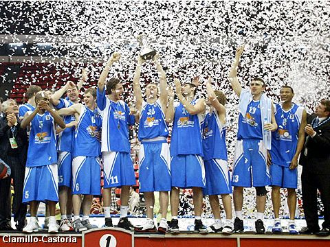 Winner of the FIBA Europe League 2005: Dynamo St. Petersburg