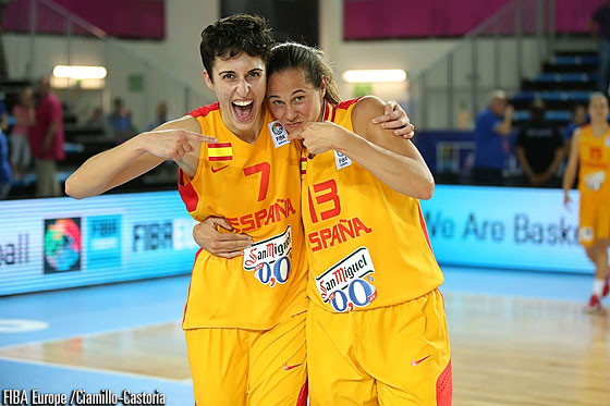 7. Alba Torrens (Spain), 13. Amaya Valdemoro (Spain)