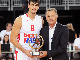 Saric Presented With 2014 Young POY Award