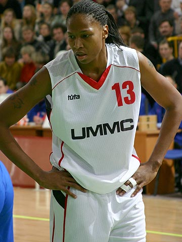 Yolanda Griffith (UMMC): 17 points and 12 rebounds against USK Blex