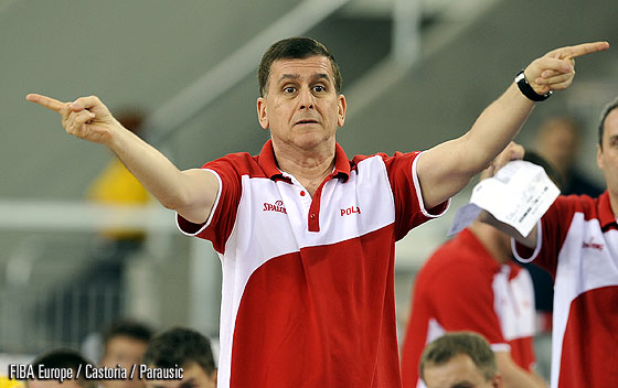 Poland Head Coach Muli Katzurin