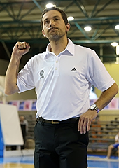 French Head Coach Jérôme Fournier