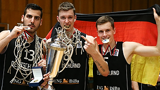 5. Andreas Obst (Germany), 8. Jan Wimberg (Germany), 13. Mahir Agva (Germany)