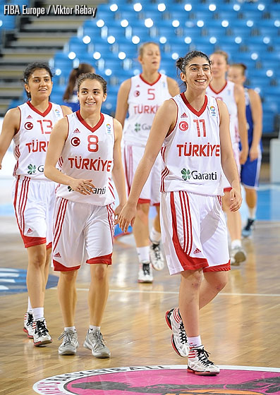 Turkey after their victory over the Slovak Republic