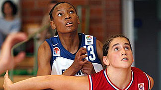 Diandra Tchatchouang (France) and Tomica Bacic (Croatia)