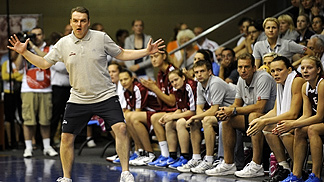 Martins Zibarts (Latvia Coach)
