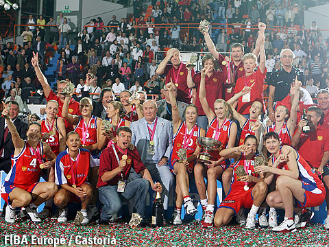 Winner of EuroBasket Women 2007: Russia