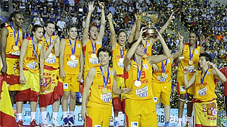 Spain are crowned champions at EuroBasket Women 2013