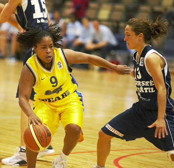 9. A'Quonesia Franklin (Solna Vikings)