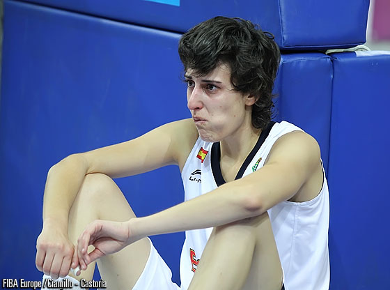 Alba Torrens after her team got eliminated from the EuroBasket Women
