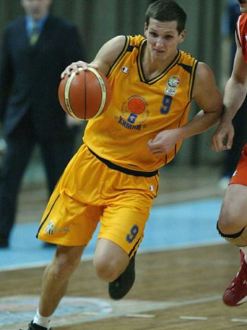 MVP of game 2 of the FEL Quarter-Final Play-Offs between BC Khimki and Ural Great, Sergey Krasnikov