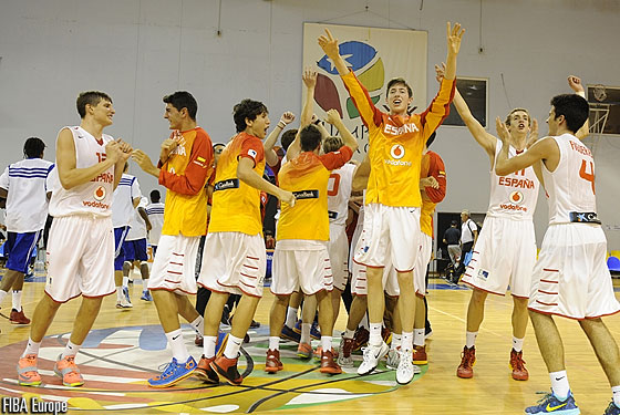 Spain: 2014 U16 European bronze medallists