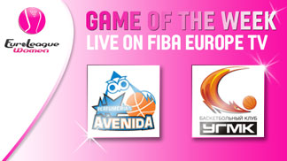 Game of the Week: Perfumerias Avenida vs. UMMC Ekaterinburg