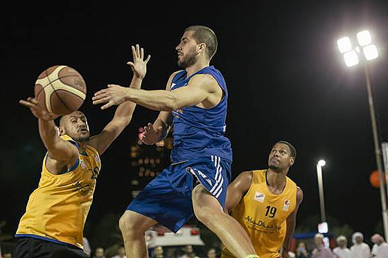 3x3 Action in Abu Dhabi