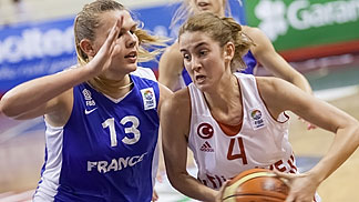 4. Olcay Cakir (Turkey), 13. Justine Barthelemy (France)
